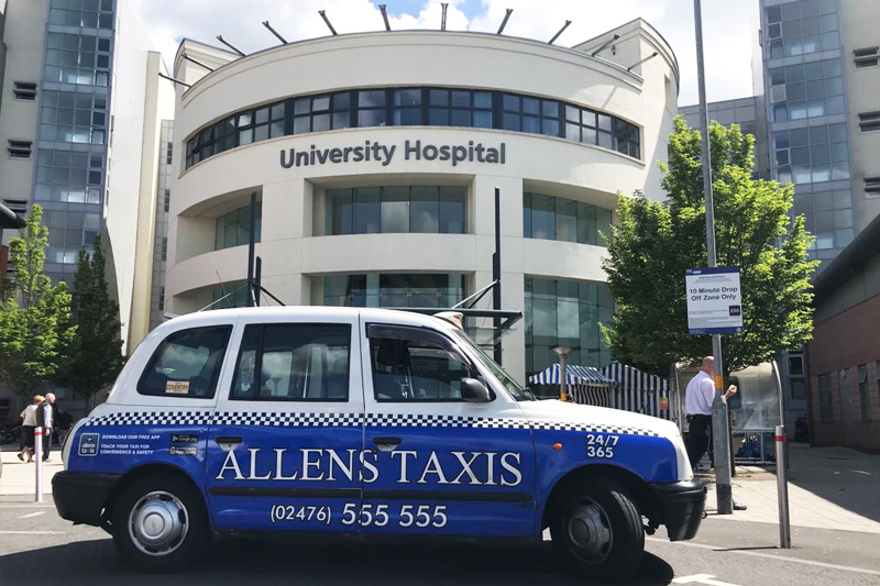 Coventry University Hospital Taxi